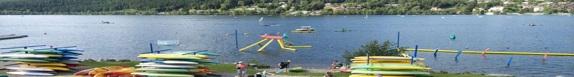 base nautique lac Gérardmer