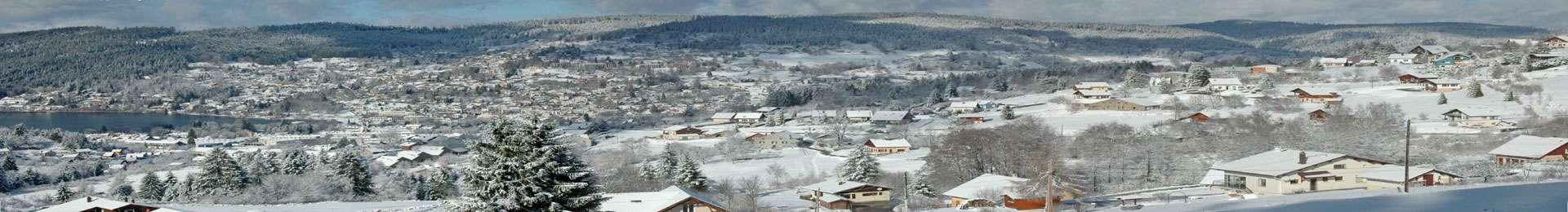 panorama hiver Gérardmer