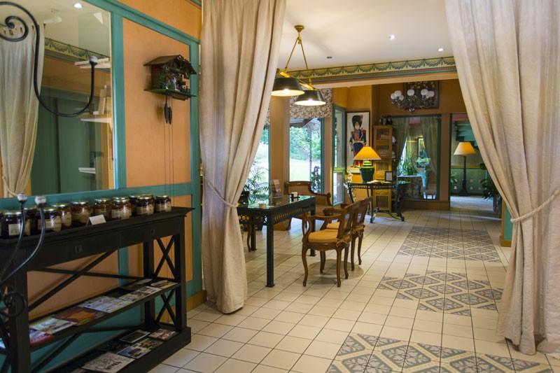 reception hotel le manoir au lac vacances gerardmer vosges