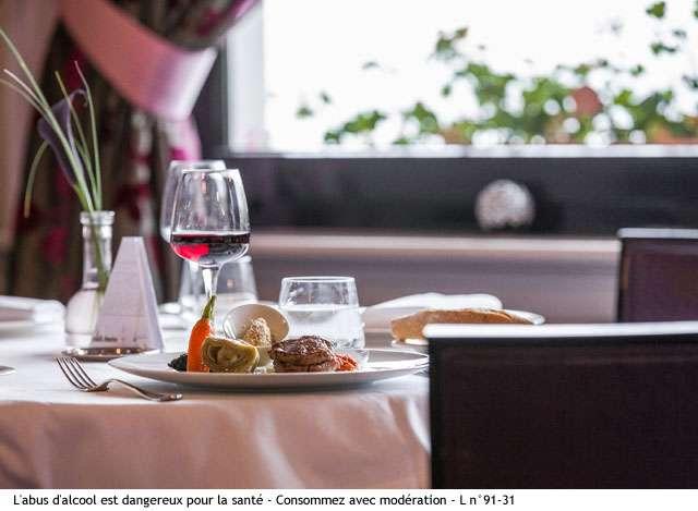 restaurant cote lac hotel beau rivage gerardmer vosges