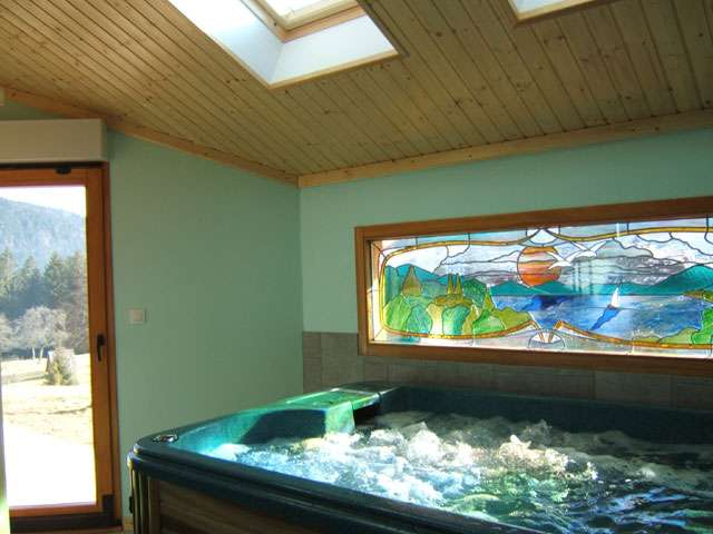 Spa chambres d'hôtes chalet de l'Epinette Gérardmer Vosges
