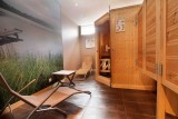 Sauna à l'hôtel Gérard d'Alsace 3 étoiles Gérardmer