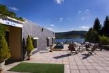 Terrasse vue sur le lac 'hôtel Le Manoir au Lac****