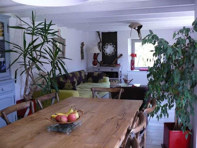 cuisine-salon chambre d'hôtes Escapade Géromoîse à Gérardmer