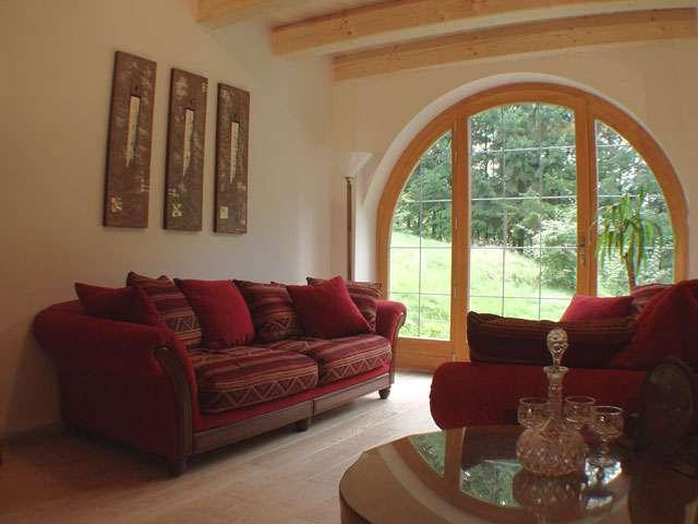salon chambre d'hôtes La Cafranne Le Tholy Vosges