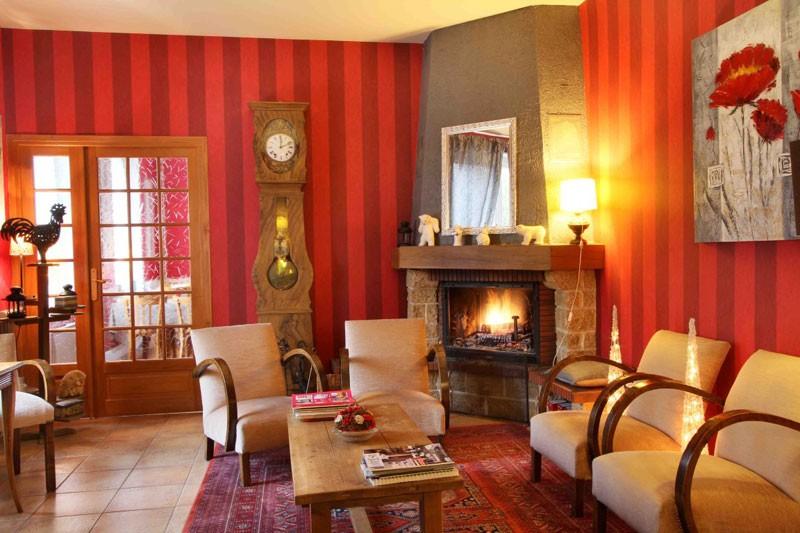 Hôtel Gérard d'Alsace 3 étoiles cheminée Gérardmer Vosges
