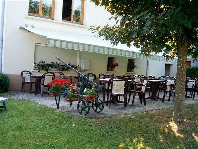terrasse restaurant auberge tendon