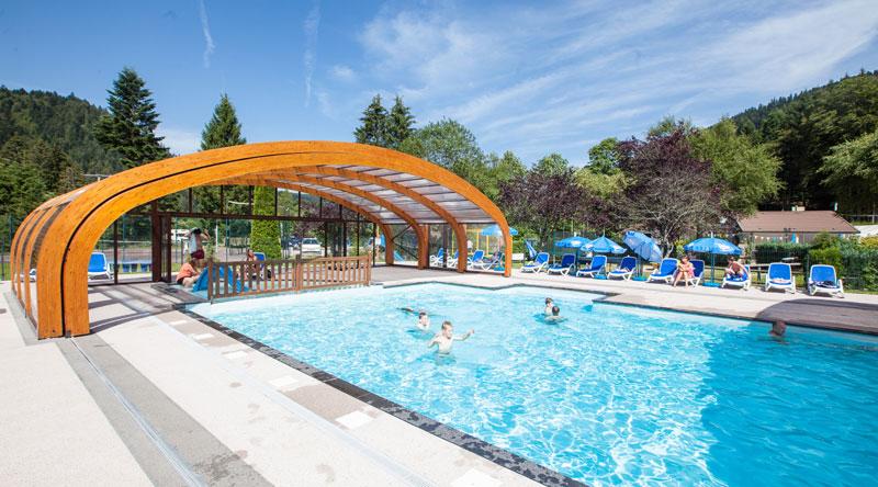 Camping verte vallee for Camping gerardmer piscine
