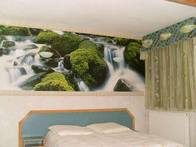 chambre 5 Auberge de La Poirie Tendon Vosges