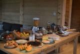 Petit déjeuner de la maison d'hôtes Chalet des Roches Paîtres