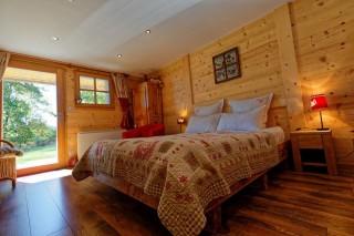 Chambres d'hôtes Chalet de roches paitres Gérardmer Vosges chambre familiale
