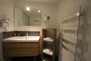 salle de bains chambre Cellet 2 personnes Gérardmer Vosges