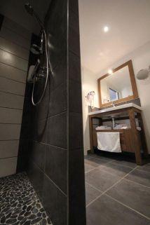 salle de bains chambre Grouvelin 2 personnes Gérardmer Vosges